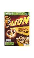 Céréales Lion caramel et chocolat Nestlé