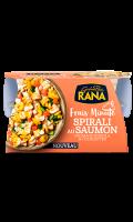 Spirali au saumon, fromage robiola & courgettes Giovanni Rana