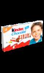 Barres chocolatées Kinder