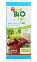 Chocolat au lait Bio pur beurre de cacao Bio Village