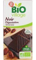 Chocolat noir Dégustation Bio Village