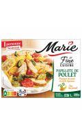 Plat cuisiné papillote de poulet Marie