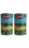 Olives à la farce d'Anchois La Ciota