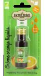 Arôme Orange liquide Bio La Patelière
