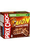 Barres de céréales Lion Nestlé