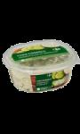 Concombres au fromage blanc et ciboulette...