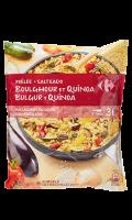 Poelée boulghour et quinoa aux légumes du soleil Carrefour