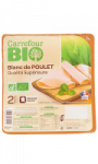 Blanc de poulet Carrefour Bio