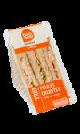 Sandwich Trio Poulet Crudités Bon App' Carrefour