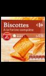 Biscottes complètes Carrefour