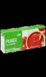 Purée de tomates Carrefour