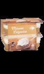 Mousse liégeoise café Carrefour