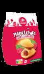 Madeleines coeur à la framboise Carrefour
