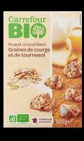 Muesli graines de courge et de tournesol Carrefour Bio