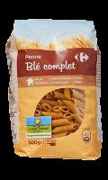 Penne rigate au blé complet Filière Qualité Carrefour