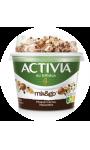 Yaourt au bifidus mix&go muesli cacao et noisettes Activia