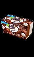 Dessert gourmand végétal coco chocolat Charles & Alice