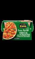 Plat cuisiné Trecce aux tomates et petits légumes Giovanni Rana