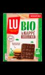 Biscuits nappé de chocolat noir Bio Lu