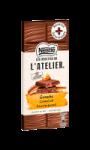 Chocolat au lait ganache caramel Nestlé L'Atelier