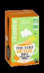 Thé vert bio detox Clipper