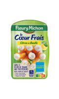 Bâtonnets Surimi Coeur Frais Citron & Basilic Fleury Michon
