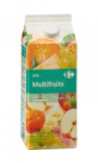 Jus multifruits Carrefour