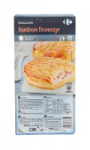 Feuilletés jambon fromage Carrefour
