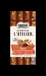 Tablette de chocolat au lait muesli amandes caramel salé Les Recette de l'Atelier Nestlé