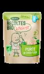 Repas bébé bio purée de chou-fleur dès 6 mois Les Récoltes Bio Bledina