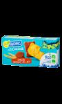 Biscuits nappés chocolat au lait bio Les P'Tits Curieux Bjorg