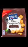 Biscuits apéritifs P'tits Croquants Olive Noire et Origan Belin