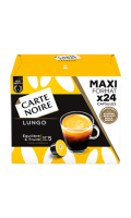 Capsules de café lungo x24 Carte Noire