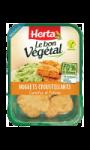 Le Bon Vegetal Nuggets Croustillants Carottes et Potiron Herta