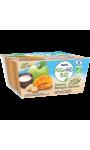 Nestle Naturnes Bio Pomme Mangue Banane Lait de Coco