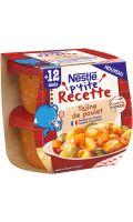 Repas bébé dès 12 mois P'Tite Recette Tajine de Poulet Nestle