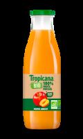 Jus de fruits Bio pomme abricot sans sucres ajoutés Tropicana