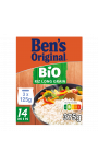 Riz long grain Bio en sachet cuisson x3 Uncle Ben's