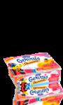 Gervais découverte fraise mangue - multifruits - framboise jus de grenade