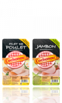 Tranches de Jambon cuit / Filet de Poulet Cochonou