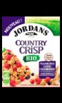 Céréales bio framboises, cassis et cranberries Country Crisp Jordans