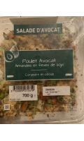 Salade avocat amandes fèves de soja Mix Buffet