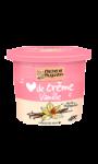 Crème dessert coeur de crème à la vanille...