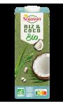 Boisson riz et coco bio Sojasun