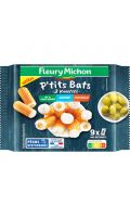 18 Bâtonnets de surimi 3 saveurs best of P'tits Bats Fleury Michon