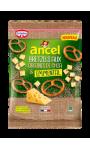 Bretzels aux Graines de Chia et Emmental Ancel