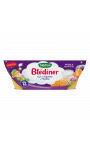 Repas bébé dès 12 Mois Légumes et Quinoa Blediner Bledina