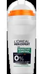 Déodorant sensitive control L'Oréal Men Expert
