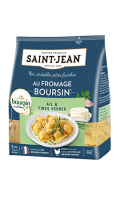 Pâtes fraîches farcies au fromage Boursin ail et fines herbes Saint-Jean