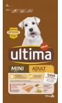 Croquettes pour chien mini saumon Ultima